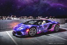 Galaxy Lamborghini Aventador Roadster at Canada