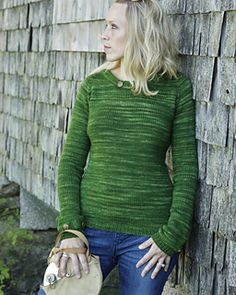 $7.87 - Ravelry - A great standard pullover with clean military-inspired updates. Fitted exactly like Ease (but with less ease!) and comfy. Extra long sleeves are perfect for pulling down in cold weather, and a short stand up collar flatters and keeps the draft out.