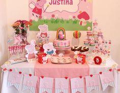 "Peppa Pig / Birthday ""Cute Peppa Pig "" | Catch My Party"