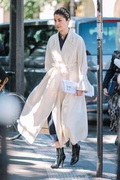 Paris Fashion Week SS17 Street Style: Day 8 - October 2016