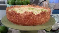 John Whaite's lime and coconut cheesecake