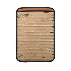cardboard MacBook sleeve
