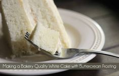 Making a Bakery Quality White Cake with Buttercream Frosting | White Cake | Wedding Cake | Birthday Cake | Best White Cake #BestWhiteCake #WhiteCake #WeddingCake #birthdaycake #Frosting #VanillaCake #AlmondCake