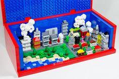 Mini Lego city in Brick | A mini Lego city in a 8 x Lego re… | Flickr