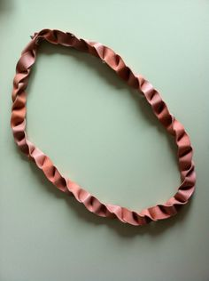origami leather fold necklace by miss tiny £15