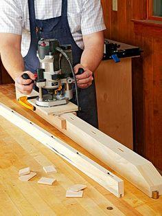 Mortising Jig Woodworking Plan, Workshop & Jigs Jigs & Fixtures Workshop & Jigs $2 Shop Plans