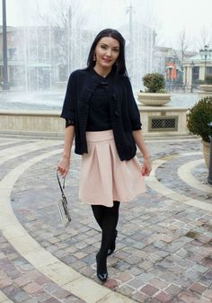 The Sugared Lemon kate Spade outfit inspiration stripes and bows pink and black