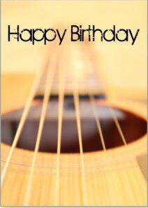 Happy Birthday Acoustic Guitar Happy Birthday Pinterest Happy