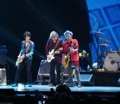 Ronnie, Mick Taylor and Keith; I want a pair of boots like Keef's.