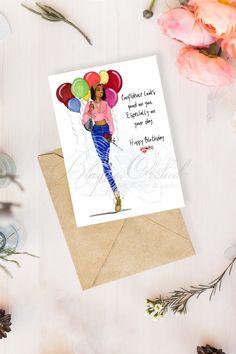 Greeting Card Companies, Greeting Cards, Carlton Cards, American Greetings, Pretty Photos, Black Girl Fashion, Printable Cards, Blank Cards, Birthday Cards