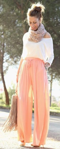Orange Girl by Lola Mansil Fashion Diary -- 60 Stylish Spring Outfits @styleestate