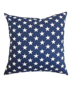 Another great find on #zulily! Blue Stars Throw Pillow #zulilyfinds