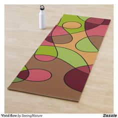 Vivid flow yoga mat