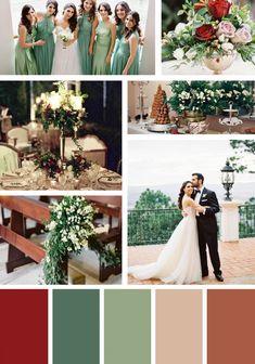 Christmas Wedding Colors.Pinterest
