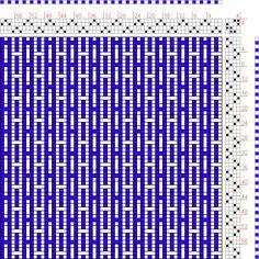 Hand Weaving Draft: Page 163, Figure 2, Orimono soshiki hen [Textile System], Yoshida, Kiju, 4S, 4T - Handweaving.net Hand Weaving and Draft...