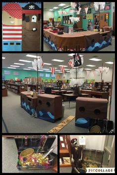 L2 - Scholastic Bookaneer Book Fair/Pirate theme/Library