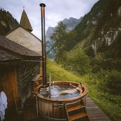 😀🏔️️️Nice Place 😍😀🏔️️️ Hot tub with a view.  #cabin #escape #cabinfever #retreat #rustic #travelstoke#outdoorlife #wilderness #adventure#woods #wanderlust#cabin #cabinlife  #tinyhouse #cabininthewoods #wanderfolk #folkmagazine