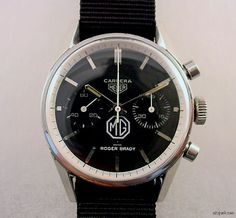 Another Vintage Heuer Carrera for MG Cars: One Step Closer to Unlocking the Mystery — HODINKEE - Wristwatch News, Reviews, & Original Stories