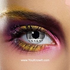 Light up your look with our incredible rave / glow contact lenses . In this section you'll find attention-grabbing UV contact lenses, super bright colours and contact lenses great White Contact Lenses, Eye Contact Lenses, Coloured Contact Lenses, Big Eye Contacts, Colored Contacts, Zombie Eyes, Halloween Contacts, Halloween Eyes, Color Vision