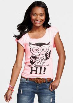 dELiAs > Hi/Bye Owl Tee