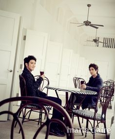 Jung Yong Hwa and Lee Jong Hyun for Marie Claire [January.2013] | SPREAD3LICIOUS