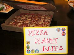 Toy Story Birthday Party Theme Pizza Planet Woody Party Decorations
