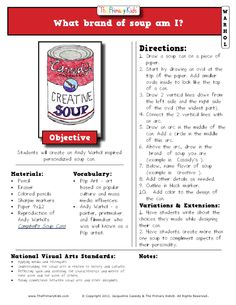 warhol lesson-soup can.pdf