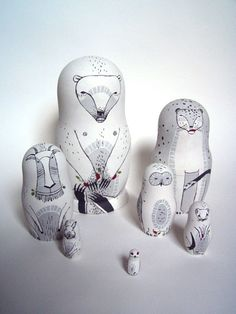 nesting dolls by cassandra