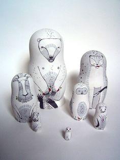 nesting dolls by cassandra