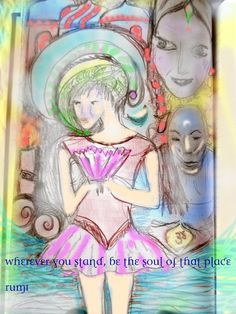 world of illusion ~ crystal Art