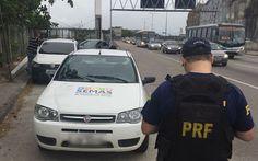 JORNAL O RESUMO: Motorista com carro da prefeitura é flagrado com h...