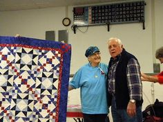 Quilts of Valor: Presentations - Central Idaho Quilters