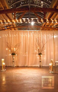 Elegant. Romantic. An amazing end to an year of amazing events at the Loft