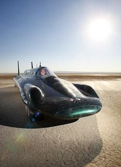 139MPH Steam powered land speed record car