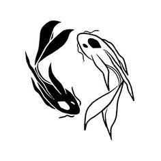 Pez Koi Tattoo, Inkbox Tattoo, Tattoo Signs, Flame Tattoos, Cute Tattoos, Body Art Tattoos, Tatoos, Yin Yang Koi, Ying Y Yang