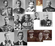 Queen Victoria's Grandsons Queen Victoria Children, Queen Victoria Family, Queen Victoria Prince Albert, Victoria And Albert, Victoria's Children, Christian Ix, Special Pictures, Queen Of England, Royal Jewels