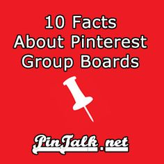 10 Facts About Pinterest Group Boards. A Pinterest group board is a pinboard that two or more curators pin content on.