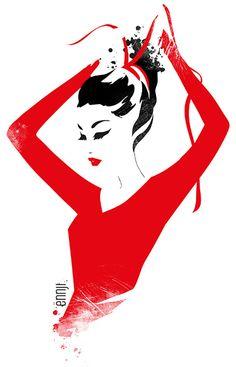Ënnji, fashion illustration - ego-alterego.com