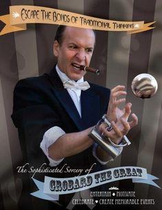 Magician, Tom Frank,
