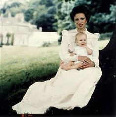 akingdomofroses:  Princess Anne with Peter Phillips