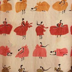 1960s Emilio Pucci print of dancing