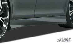 "LK Performance RDX Sideskirts PEUGEOT 207 ""Turbo"" Vw Scirocco, Vw Passat, Vw Polo 3, Skoda Fabia 2, Seat Ibiza 6j, Peugeot, Renault Megane 3, Ford Orion, Fiat Bravo"