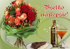 prianie k narodeninám a meninám Wine Bottle Images, Table Decorations, Vegetables, Birthday, Food, Home Decor, Birthdays, Decoration Home, Room Decor