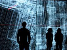 Data.anatomy [civic] Installation by Ryoji Ikeda