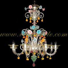 San Bartolomeo - Murano glass chandelier