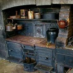 Antique stove.