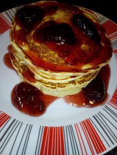 H μαγειρικη της Φωτεινής: Banana pancakes με μαρμελάδα φράουλας Banana Pancakes, Breakfast, Quotes, Food, Morning Coffee, Quotations, Plantain Pancakes, Essen, Meals