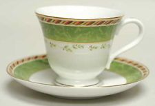 Royal Albert SEASONS OF COLOUR Green Cup & Saucer
