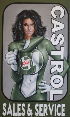 Castrol Sales and Service.