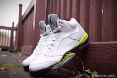 "4fa0e19ffc31 Air Jordan V ""Command Force"" by Ramses Customs Jordan V"